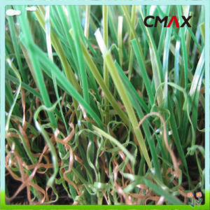 Natural Decorative Landscaping Artificial Turf 20mm - 50mm with 4color pictures & photos
