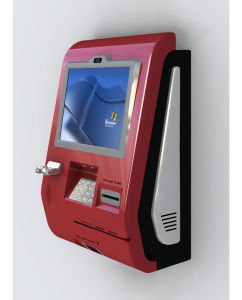 Kmy 8600 Series Android System Wall Mounted Payment Kiosk for Sale pictures & photos