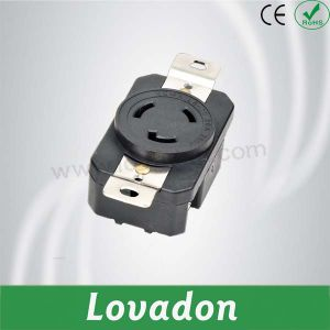 L6-20r American Anti-off Three-Hole Outlet pictures & photos