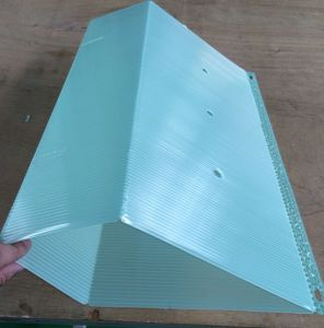 Plastic Polypropylene PP Hollow Profile Board pictures & photos