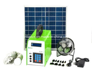 10W Prepaid off Grid Stand Alone Home Solar Power System