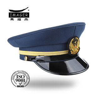 Hot Sale Fine Quality Police Cap with Designed Logo pictures & photos