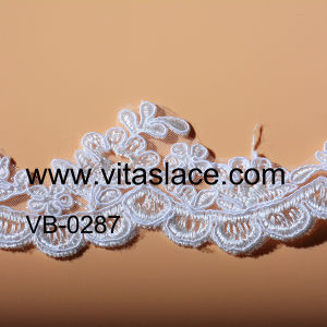 White Rayon Lace Trim Supplier in China Vb-0287bc pictures & photos
