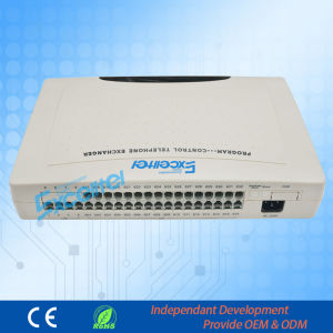 Group Telephone System PBX CS+432 4 Co Lines 32 Extensions pictures & photos