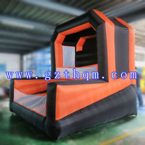 Commercial PVC 0.55mm Inflatable Basketball Hoop Stands Toys for Adults pictures & photos