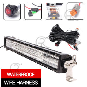 "LED Work Light Bar CREE 5D (20"", 144W, IP68 Waterproof) pictures & photos"
