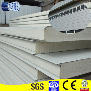 PU sandwich wall panel pictures & photos