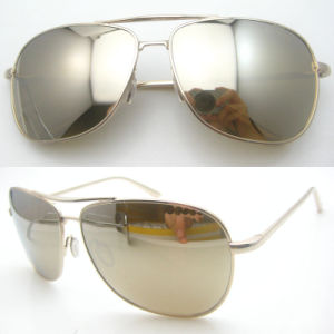 Fashion Polarized Mirror Design Metal Eyeglass pictures & photos