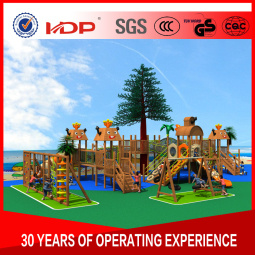 Factory Customized of Kids Outdoor/Indoor Playground Slide Hot Sell Preschool Equipment Amusement Park Wooden Series HD16-167A pictures & photos