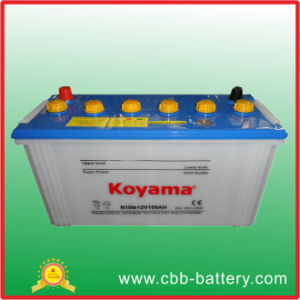 Dry Charged Battery N100- 100ah 12V pictures & photos