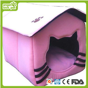 New Design Tent Shape Plush Dog House (HN-pH343) pictures & photos