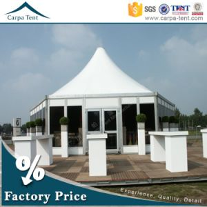 Waterproof Beautiful Decorated 6m Diameter Multi-Sided Marquee Party Tent with Glass Wall pictures & photos