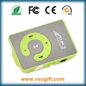 Wholesale Cheap Mini Mirror Clip MP3 Music Player Free Logo pictures & photos