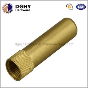 High Precision CNC Machined Brass Turning Parts with Chrome Plating Made in China