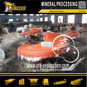 Spiral Zironium Sand Chute Separation Machine for Zircon Concentration pictures & photos