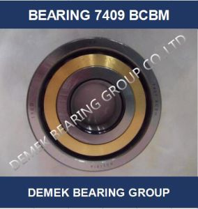 Angular Contact Ball Bearing 7409 Bcbm with Brass Cage pictures & photos