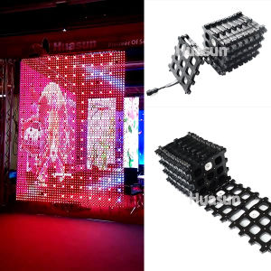 Foldable P50 LED Curtain Display pictures & photos