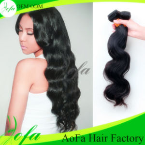 7A Grade Loose Wave 100% Remy Virgin Human Hair Extension pictures & photos