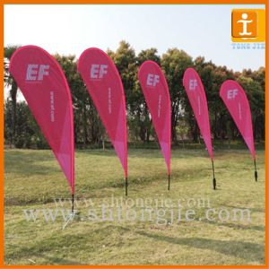 Promotion Outdoor Advertising Flutter Flag (TJ-14) pictures & photos