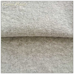 Ash Grey Terry Fabric for Home Textile