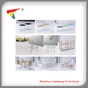 Best Sell Tempered Glass Nesting Coffee Table (CT075) pictures & photos
