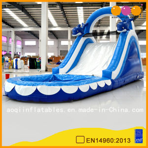 Giant Inflatable Water Dolphin Slides (AQ1040) pictures & photos