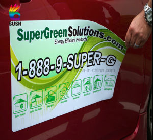 Custom Removable Waterproof Magnetic Car Sticker (SS-MS-4) pictures & photos