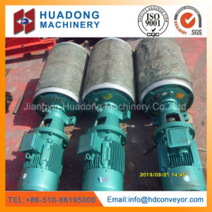 Conveyor Pulley Drum with Vulcanized Rubber Lagging pictures & photos