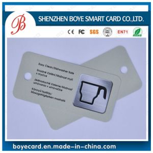 Special Shape Plastic Card with Hole Punched pictures & photos