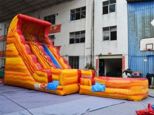 Giant Volcano Inflatable Water Slide for Water Games (CHSL511L) pictures & photos