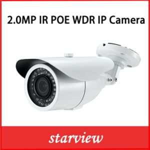 2.0MP WDR IP IR Poe Outdoor Bullet CCTV Security Camera pictures & photos