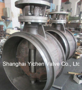 Bw High Temperature Butt Welding Butterfly Valve pictures & photos