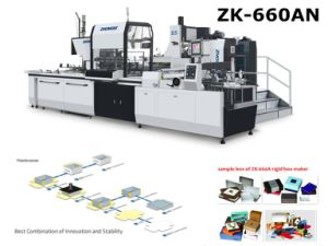 Heaven and Earth Cover Paper Box Making Machinery pictures & photos