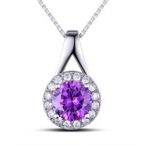 Solid Steel Women Stylish Pendant Necklace pictures & photos