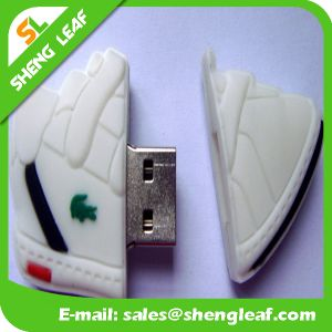 Fashionable Customized Rubber USB Flash Drives for Promotion (SLF-RU003) pictures & photos