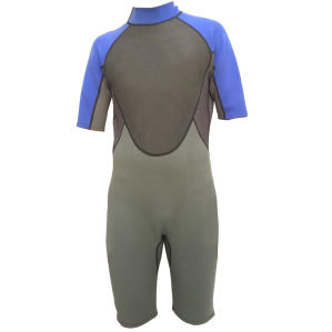 Short Neoprene Nylon Swimwear/Sports Wear/ Neoprene Suit/Wetsuit (HX15S108) pictures & photos