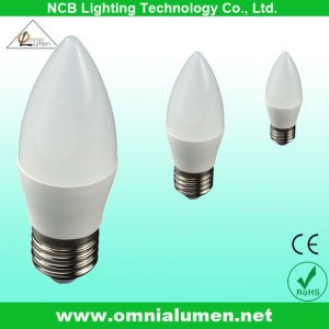 3W 5W Dimmable Bulb LED Candle Lamp