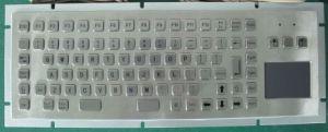 Waterproof Kiosk Metal Keyboard (KMY299H1-T) pictures & photos