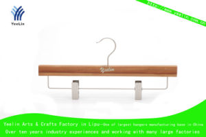 Primary Return Type of Bamboo Hangers with Metal Hanger (YLBM33512-NTLS1) pictures & photos