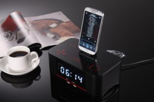 Portable Remote Control NFC Wireless Bluetooth Docking Speaker Box pictures & photos