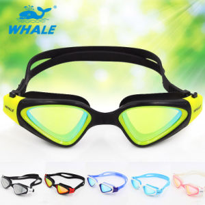 2015 Latest Design Silicone Adult Swimming Goggles with CE Certificate pictures & photos