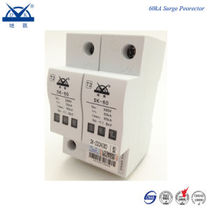 DIN Rail 2p Single Phase AC 220V Power Surge Protector pictures & photos