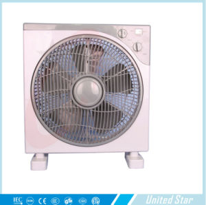 2015 Hot Sell 10 Inch Electric Plastic DC Box Fan pictures & photos