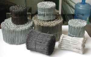 PVC Coated Double Loop Wire Ties pictures & photos