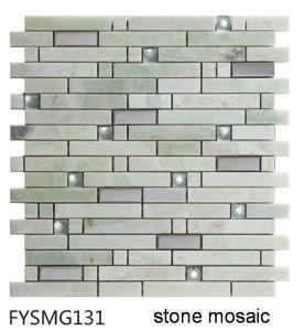Natural Stone Marble Mosaic Til for Floor Tile (FYSMG131)