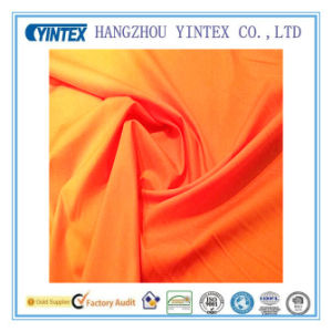 Wholesale 100% Plain Cotton Fabric for Home Textiles, Orange pictures & photos