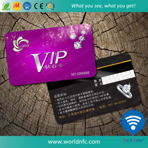 Manufacturer D41 4kbyte Plastic RFID Smart Card/Contactless IC Card pictures & photos