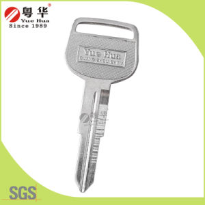Brass Material Nickel Plated Suzuki Universal Car Key for Car Lock with Customized Logo pictures & photos
