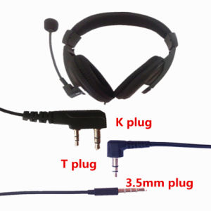 Hands-Free Headphone 3.5mm Stereo Sound Headset with Mic pictures & photos