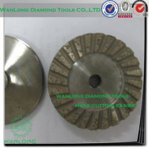 Concrete Diamond Cup Grinding Wheel for Stone Processing, Stone Grinding Abrasive Wheel pictures & photos